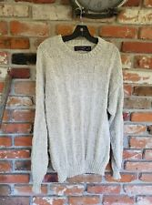 Rountree & Yorke [M] medium made in USA 100% cotton crew neck knit sweater