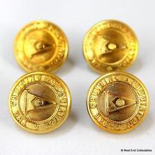 4 x 23mm Le Croisière Association Badge Boutons -FIRMIN- Nautique Line
