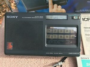Sony ICF-SW800 shortwave & FM radio receiver