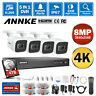 ANNKE H.265+ 4K 8CH DVR Outdoor 8MP CCTV Security Camera System IR Night Vision
