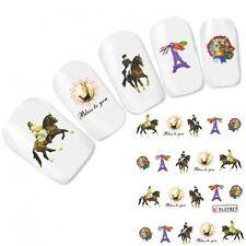 Cavallo Tatuaggio Adesivo per unghie gatto cat ADESIVI HORSE NAIL ART UNGHIE
