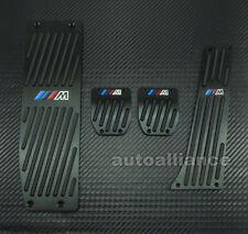M-Tech Black Foot Rest MT Pedal Set For BMW E30 E36 E46 E87 E90 E91 E92 E93 M3