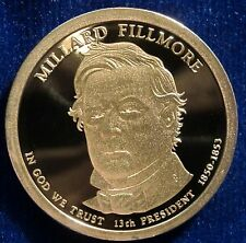2010-S San Francisco Mint Presidential Dollar Millard Fillmore Proof