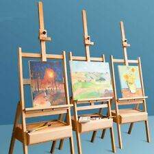 Easel For The Artist Painting Sketch Easel Drawing Table Box Oil Paints Easel
