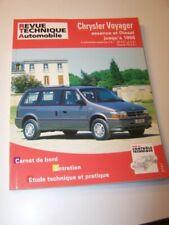 EC Revue technique Chrysler Voyager Essence  2.5 4 cyl V6 3.0 3.3/Diesel 2.5 TD