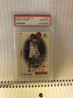 ROOKIE 1998 UPPER DECK SP AUTHENTIC#110 BRIAN SKINNER PSA GRADED 8