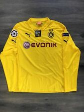 Borussia Dortmund Championsleague Langarm-Trikot #17 Aubameyang Gr. XL