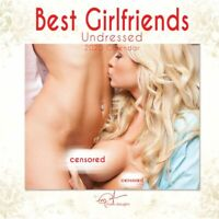 Sirens Calendars, 2020 Best Girlfriends Undressed Wall Calendar