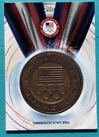 U.S. OLYMPIC TEAM 2016 TOPPS COMMEMORATIVE MEDALS BRONZE MEDAL CARD