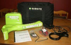 SUBSITE UTILIGUARD T5 BLUETOOTH CABLE PIPE LOCATOR UTG-STD-BLUETOOTH UTG-T5