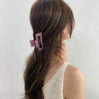 Korean Hair Claw Clip Women Elegant Barrettes Acrylic Hair Pins Hairpin Hairgrip