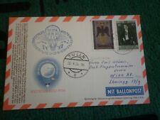 Ballonpost/Flugpost Oesterr. m/Liechtenstein-Frankatur 1956/58