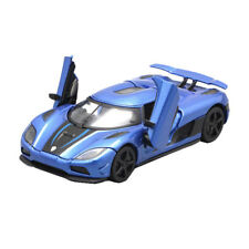 1:32 Koenigsegg Agera R Supercar Model Metal Diecast Toy Vehicle Blue Pull Back