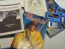 Complete Commodore Amiga Pirates Video Game Computer System
