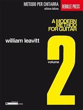Hal Leonard MGB metodo moderno per Chitarra Volume 2
