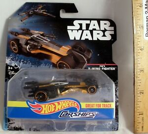 POE'S X-WING FIGHTER (2016) HOT WHEELS CARSHIPS STAR WARS New China die-cast