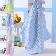 Soft Cotton Baby Infant Newborn Bath Shower Towel Washcloth Feeding Wipe Cloth