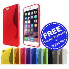Slim Soft Gel Case Tough Silicone Cover for Apple iPhone 5 5c SE 6 6s 7 Plus 8 X