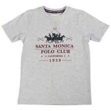T-shirts, débardeurs et chemises gris coton mélangé à manches courtes pour garçon de 2 à 16 ans