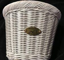 Nantucket Gull & Buoy Child D-Shape Front Handlebar Bike Basket Co. White