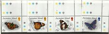 Ascension 1987 Butterflies SG438-31 MNH with controls