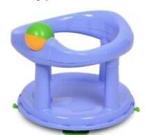 Baby Badesitz drehbarer Kinder Badewannensitz Blau ergonomisch