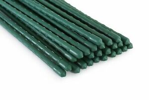 Tingyuan Garden Stakes Steel Plant Stakes, Pack of 25, Various Sizes Optional