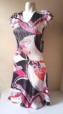 NEW *Komarov Women Summer/Spring Multi-Color Dress Size Large