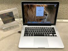 "MACBOOK PRO 13"" 2009~2.26 CORE 2~8GB~128GB SSD~EL CAP~FAIR SHAPE"