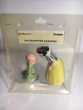 Vintage Disney Salt & Pepper Shakers Snow White & Dopey Original Package
