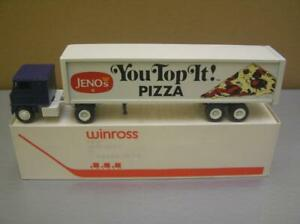 Winross 'Jeno's Pizza' Tractor Trailer Truck 1/64 scale made in USA Mint in Box