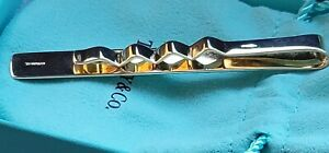VINTAGE TIFFANY&CO SOLID 14K YELLOW GOLD MONEY CLIP 12.6gr