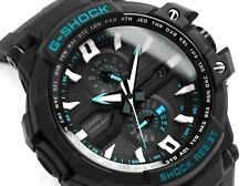 Casio G-Shock * G-Aviation GWA1000A-1A Multi Band 6 Tough Solar Triple G Black