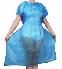☢ Medical Fetish Nurse Dress Gown PVC Vinyl ABDL Plastic Pants Adult Baby LARGE