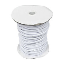 4mm 3m White Elastic Bungee Cord Shock Cord Tie Down Boat Trailer Tarpaulin