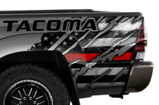 Quarter Panel Wrap Graphic Sticker Decal For Toyota Tacoma 2005-2015 RED LINE