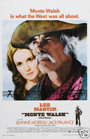 Monte Walsh Lee Marvin cult movie poster print