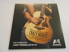 Crazy Hearts Nashville Press Kit Booklet/DVD/ CD+LP  Promo Only Gatefold LP Size
