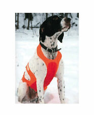New Cabela's Tummy Saver Hunting Bird Dog Vest Blaze Orange S, L