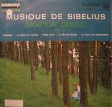 ++MORTON GOULD musique de sibelius LP 1963 RARE TBE++