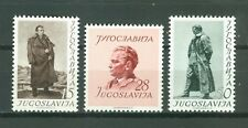 YUGOSLAVIA 1952 - MARSHAL TITO BIRTHDAY MI. 693/695 MNH SET