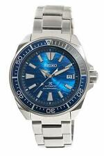 Seiko Prospex Samurai Blue Wave Divers Wrist Watch for Men - SRPD23