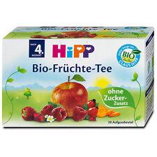 HiPP Baby Bio-Fruchte Tee --ORGANIC Fruit Tea  -Made in Germany- 20 tea bags