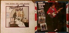 BLUEGRASS 2 LP Lot Doug Dillard Band Heartbreak Hotel~Ricky Skaggs Live SEALED