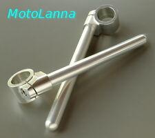 Clip-On Handle Bars 37mm Billet CNC Kawasaki 250TR KZ Yamaha XS1100 Honda FT-500