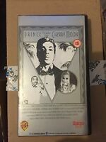 PRINCE UNDER THE CHERRY MOON VHS MOVIE FILM OF THE LEGEND PRINCE RARE