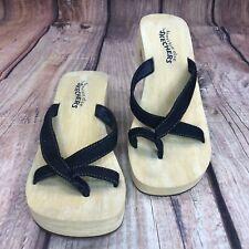 Skechers Something Else Wedged Sandals Women Size 8 Slip On Sandals - Worn Once