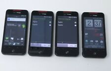Lot of 4 Various Working HTC Android Smartphones - Wildfire / Desire C