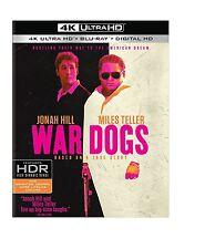 PRE ORDER: WAR DOGS (Jonah Hill)  (4K ULTRA HD) - Blu Ray -  Region free
