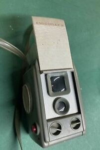 Vintage 1950's ANSCO ANSCOFLEX II 2 Camera  with case untested